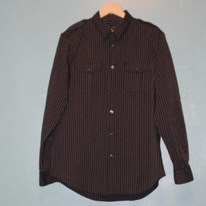 Structure Mens Causal Button Down Shirt